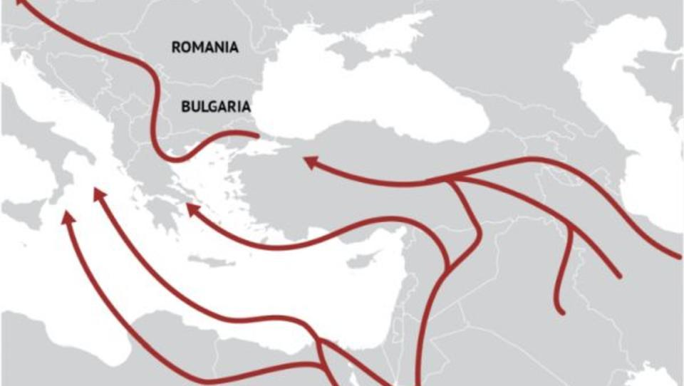 Flüchtlinge: Druck über Balkanroute ist erneut sehr stark
