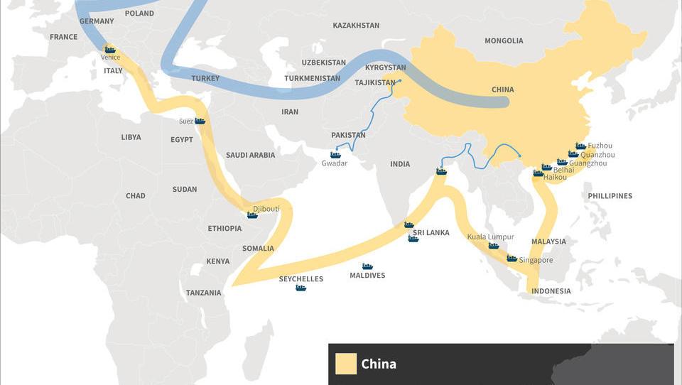 Neue Seidenstraße: LKW fährt erstmals von Deutschland nach China