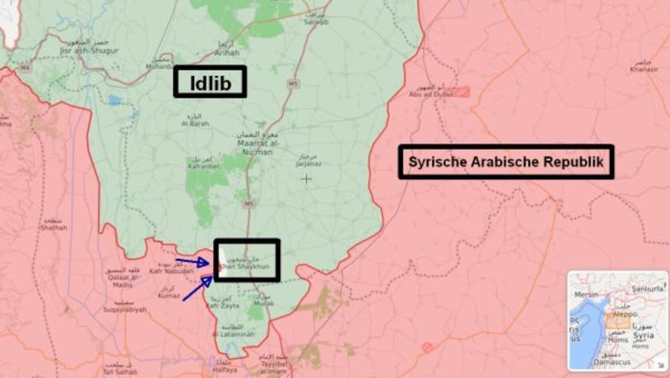 Syrien: Armee steht kurz vor Befreiung von Islamisten-Hochburg