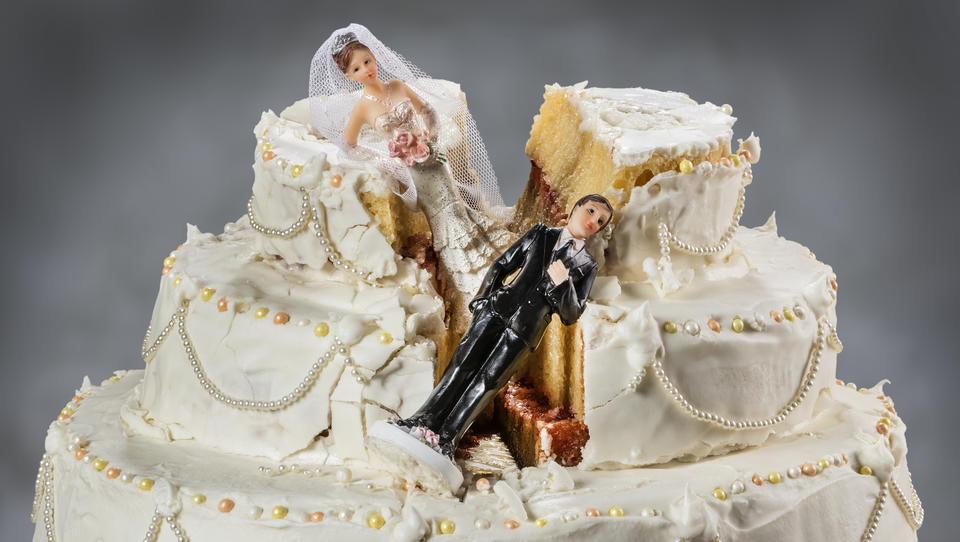 Deutsche Ehen werden immer später geschieden