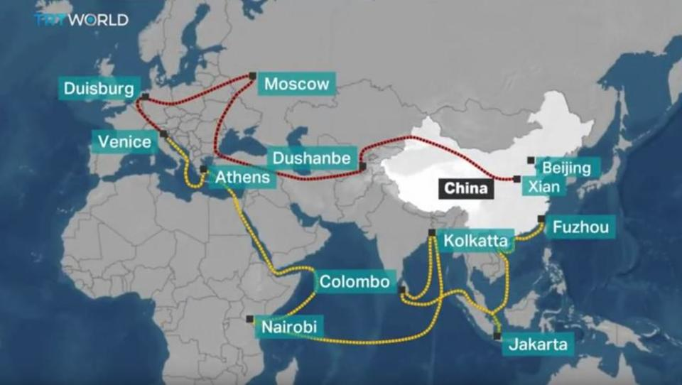 Neue Seidenstraße: China kauft Firmen mit hohen Schulden auf