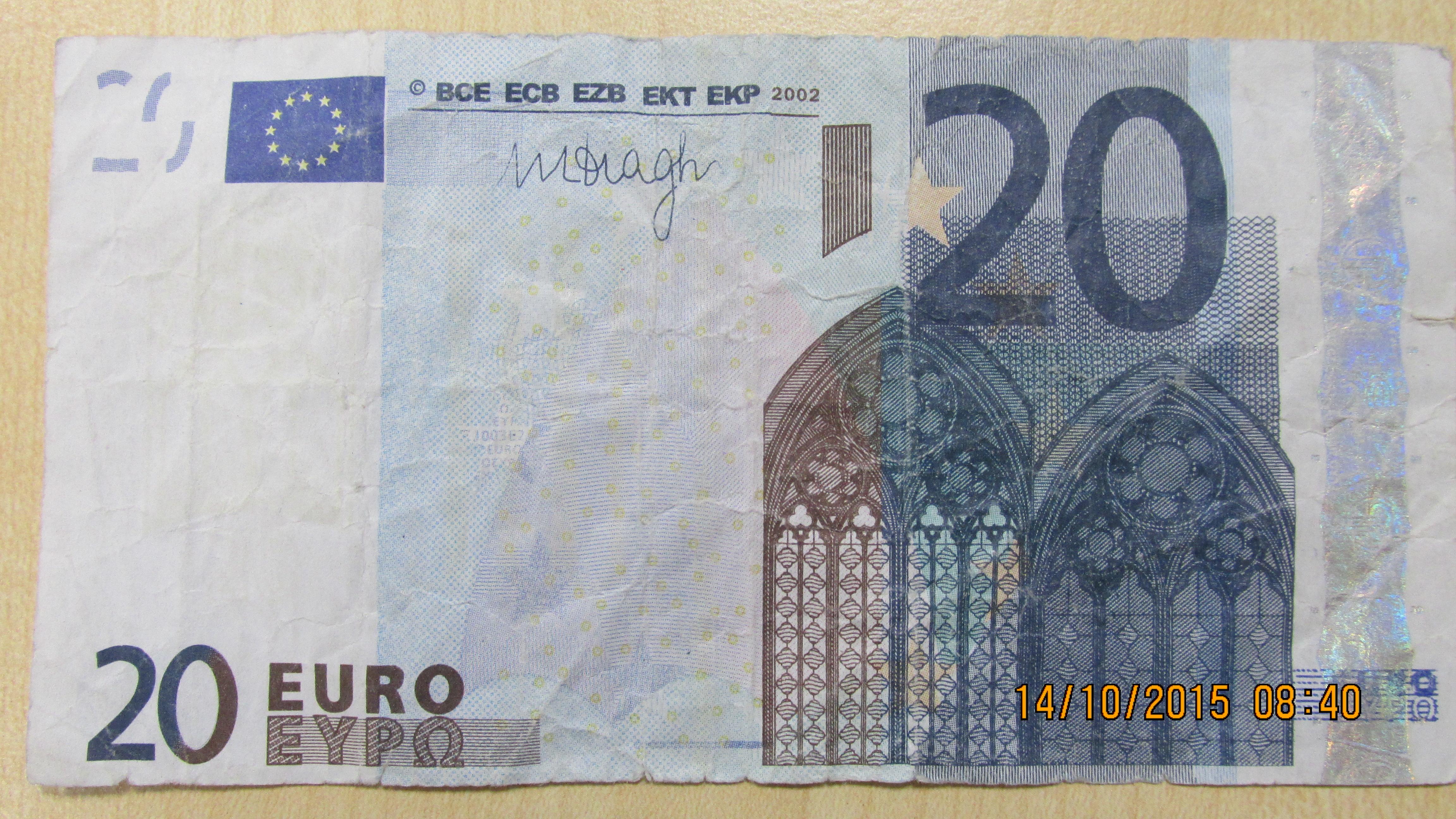 NRW: Polizei warnt vor falschen 20-Euro-Scheinen