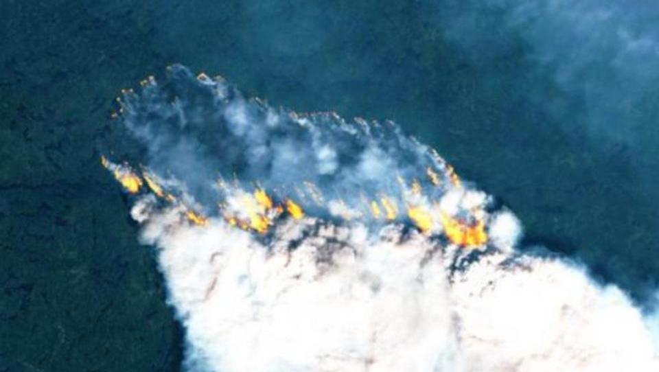 Beispiellose Großbrände in der Arktis weiten sich aus