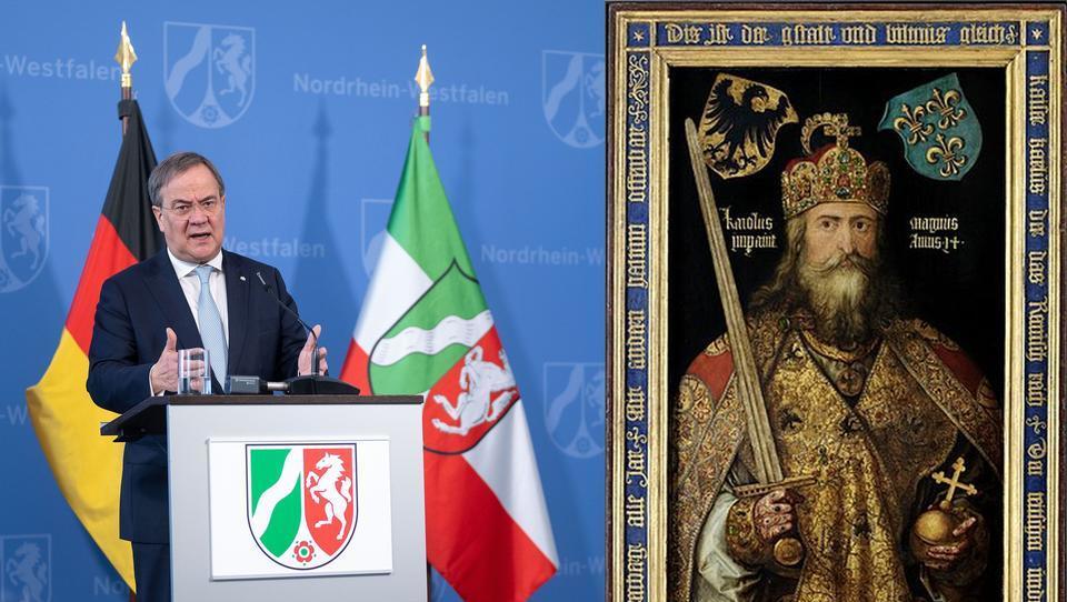 Laschet-Familie meint: Wir stammen direkt von Karl dem Großen ab