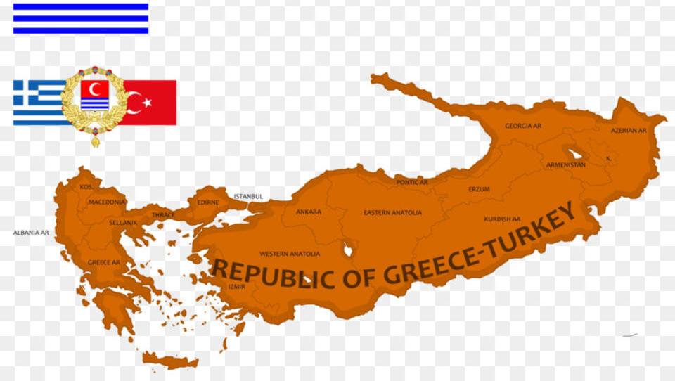 Eine Föderation zwischen Türkei und Griechenland ist die Lösung aller Probleme