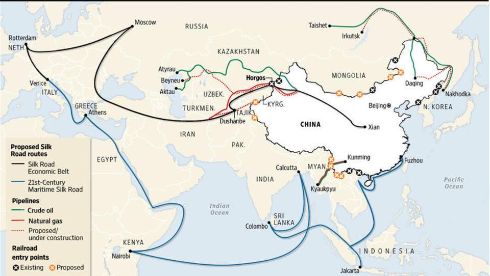 Wenn im Mittelmeer ein Krieg ausbricht, ist Chinas Neue Seidenstraße tot - Teil 1