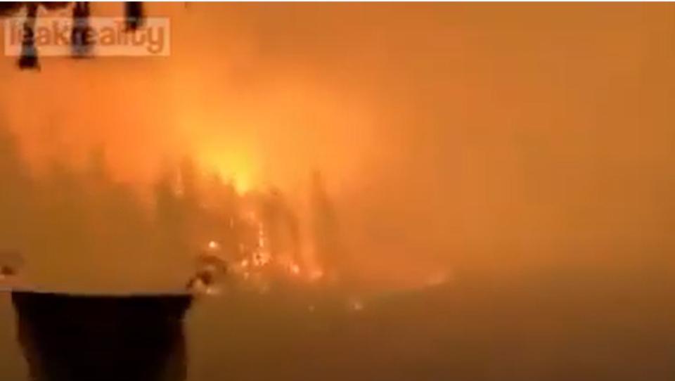 Heftige Waldbrände im Osten Sibiriens ausgebrochen