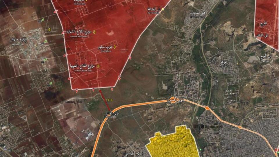 Syrien: Söldner und Islamisten bei Aleppo eingekesselt