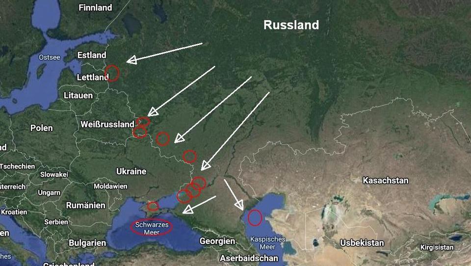 Russland führt Last-Minute-Manöver mit 414 Flugzeugen, 106 Kriegsschiffen und 150.000 Soldaten durch