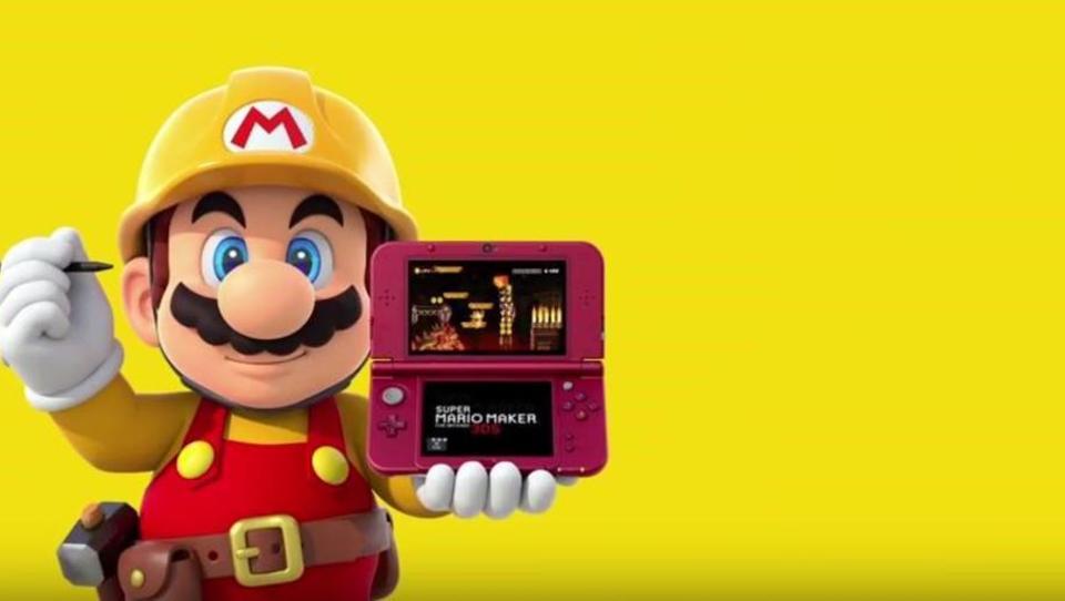 Nintendo 3DS kündigt Release von Super Mario Maker an