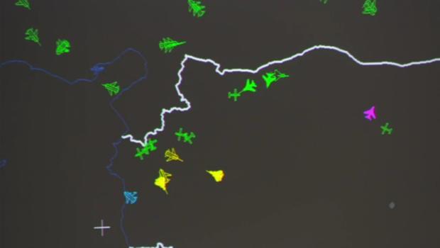 US-Jets mit russischen Kampf-Fliegern auf Tuchfühlung