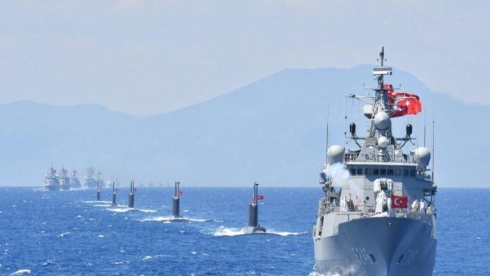 DWN-EXKLUSIV  -  Marine-Manöver im Mittelmeer: Türkei bereitet sich auf möglichen Krieg vor