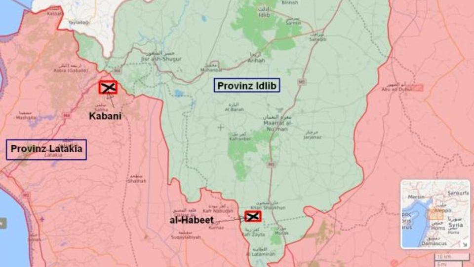 Syrischer Armee gelingen bedeutende Durchbrüche in Latakia und Idlib