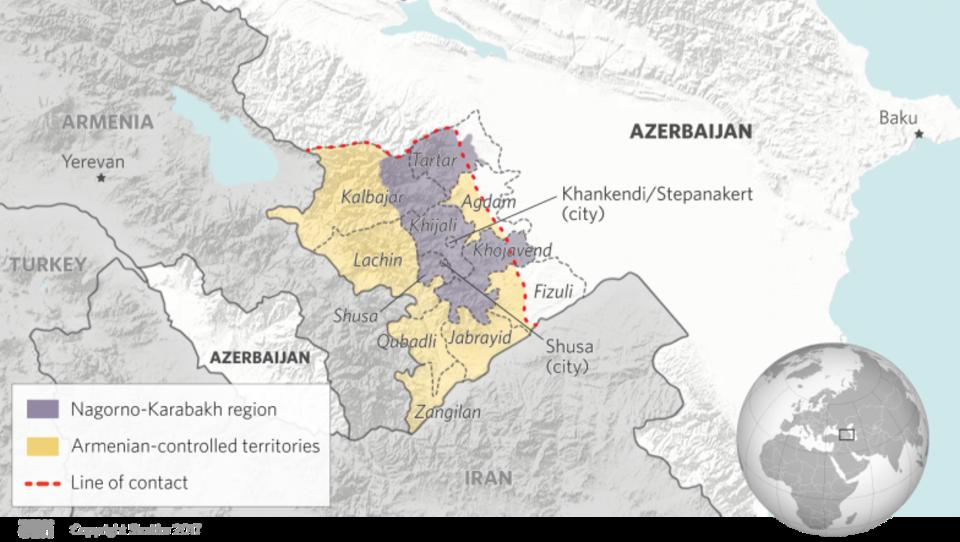 Aserbaidschan führt großes Manöver im Kaukasus durch - Armenien protestiert