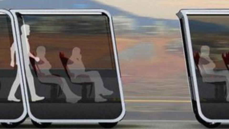 """Next"": Selbstfahrende Kabinen als Transportmittel"