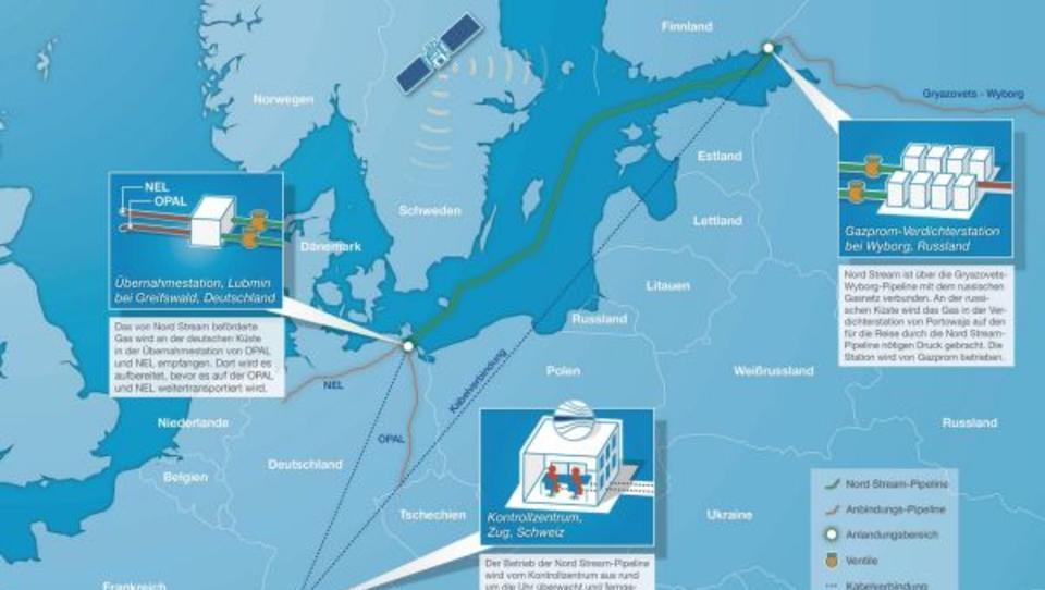 Russland: Neue US-Sanktionen könnten Bau von Nord Stream 2 erschweren