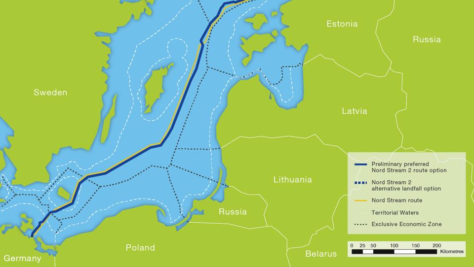 Was der Nord Stream 2 für die europäisch-russische Beziehung bedeutet