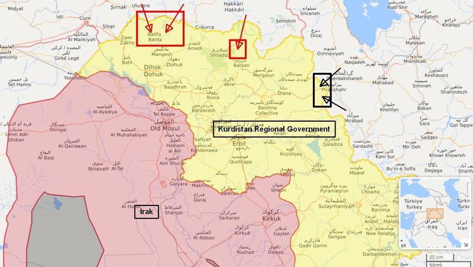 DWN-SPEZIAL: Türkei und Iran führen gemeinsame Operation gegen die PKK durch