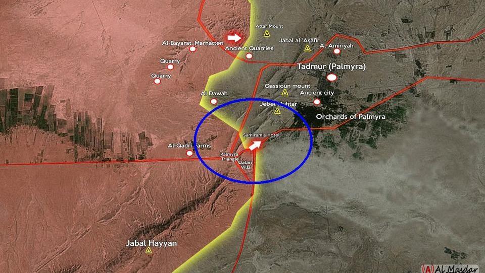 Russland, Syrien und der Irak starten Groß-Offensive gegen den IS