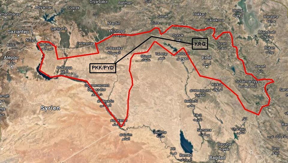 USA und Türkei gründen einheitliches Kurdistan im Irak und Syrien