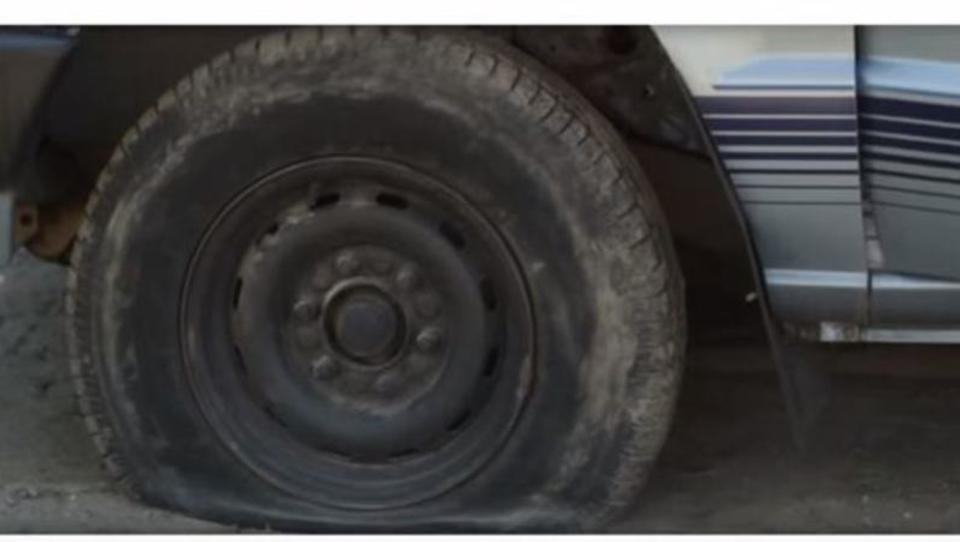 Nie mehr platte Reifen: Gummi repariert sich selbst