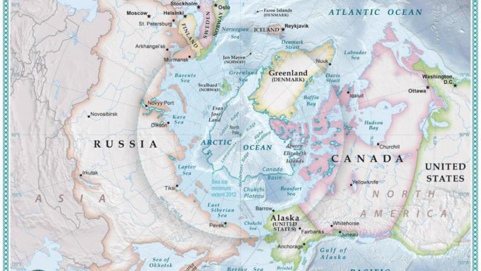 Rohstoffe und freie Handelswege locken: Griff nach der Arktis