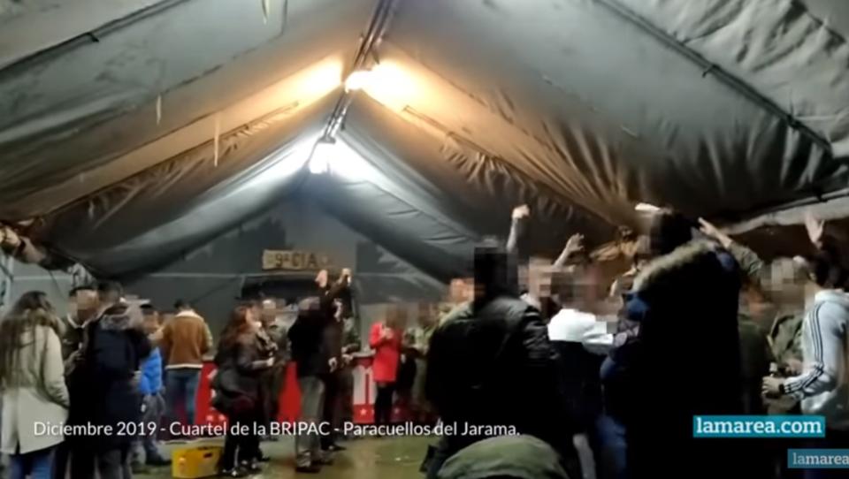 """Spanien: Soldaten nach """"Faschisten-Party"""" auf Militärflugplatz festgenommen"""