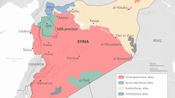 Syrien Karte Aktuell 2018.Deutsche Wirtschafts Nachrichten