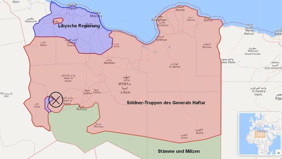 Russische Söldner blockieren wichtiges Ölfeld in Libyen
