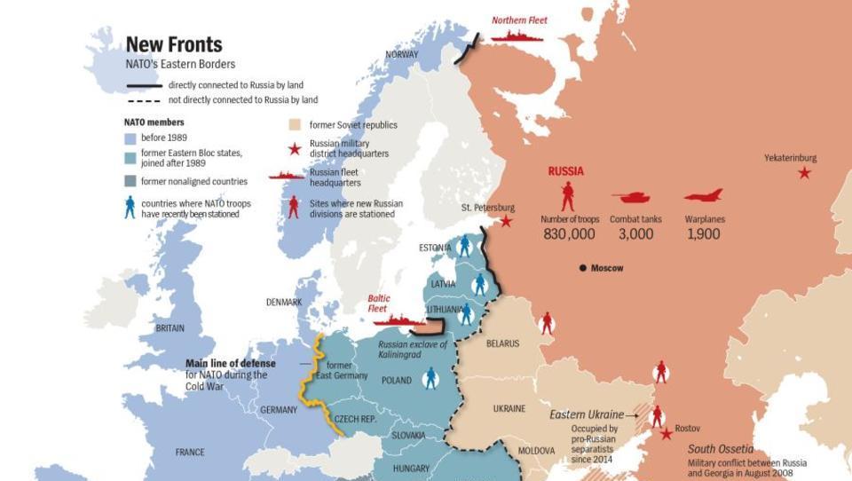 Umfragen zeigen Sorge vor Entstehung eines neuen Kalten Krieges