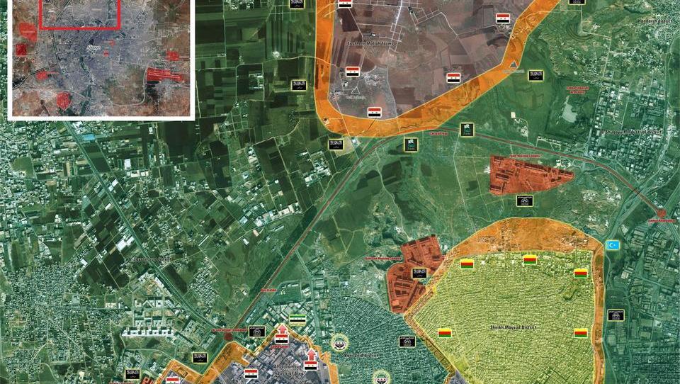 Schlacht um Aleppo: Islamisten fliehen, stehlen vorher Waffen