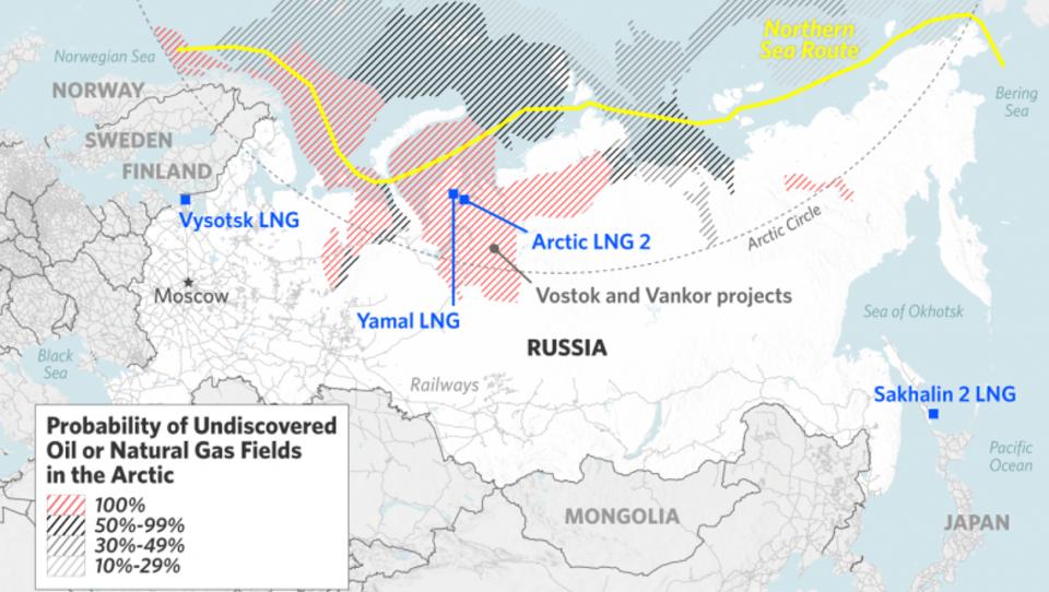 Rosneft: Erschließung der Arktis soll 145 Milliarden Euro kosten