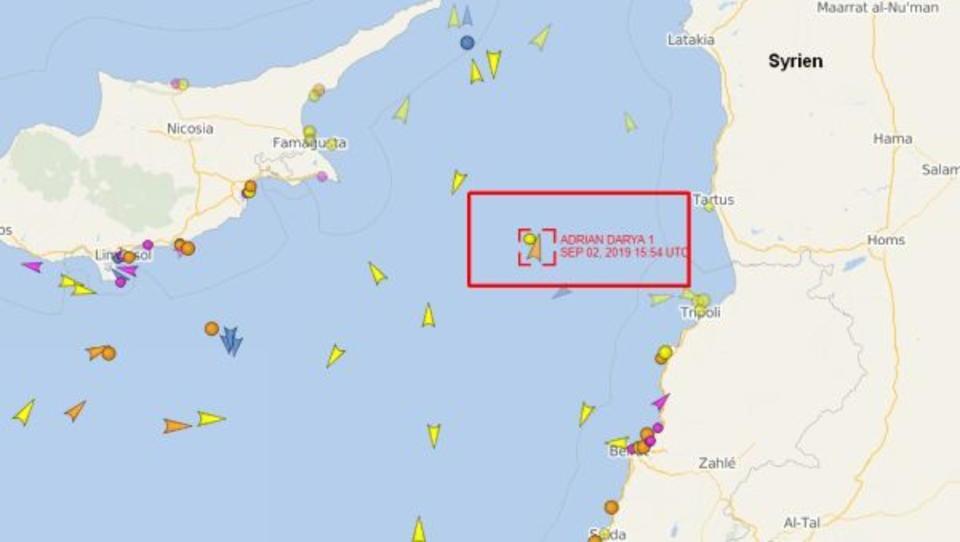 """Iran baut """"schwarze"""" Tankerflotte auf"""