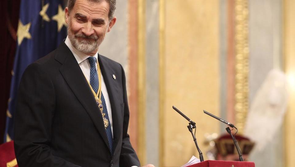 Eklat im spanischen Parlament: Fünf Parteien boykottieren Königsrede
