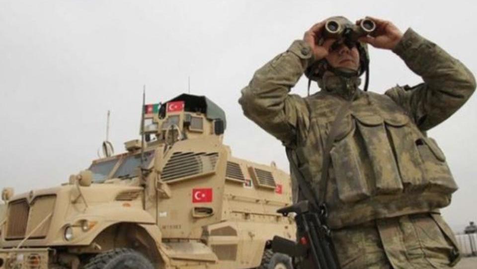 Türkische Boden-Truppen marschieren im Nordirak ein