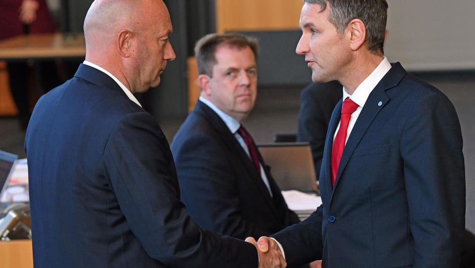 Reaktionen auf die Kooperation von CDU, AfD und FDP in Thüringen