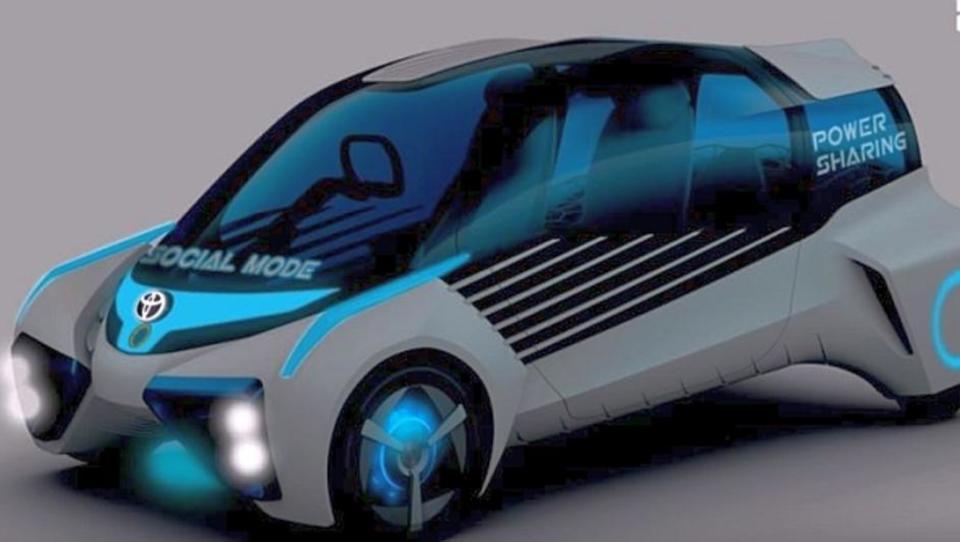 Wasserstoff-Auto produziert Strom für Zuhause