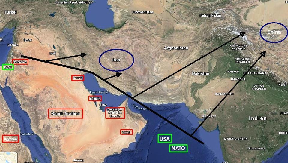 """Gegen China: Deal zwischen Israel und VAE bildet Startschuss für """"arabische Nato"""""""