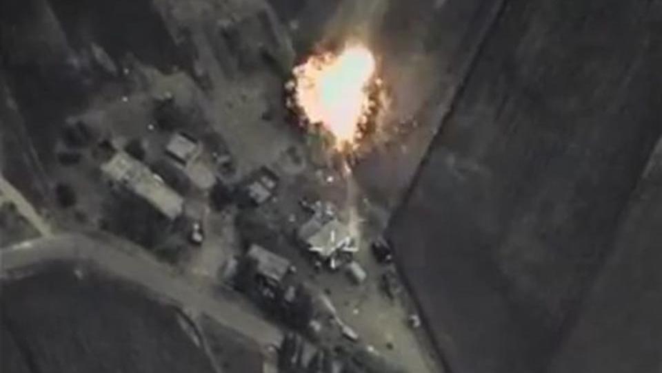 Russland veröffentlicht Video von Luftschlägen gegen IS