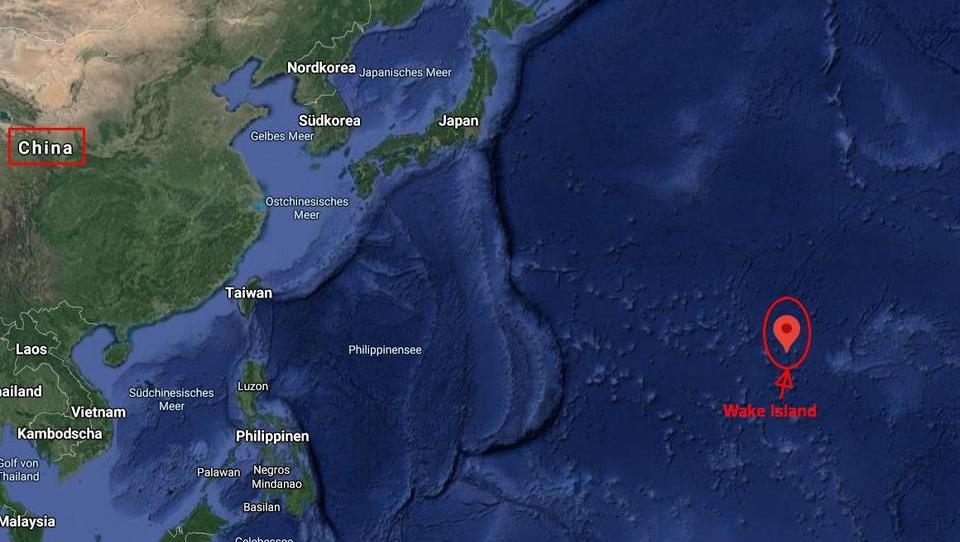 USA bauen kleine Insel im Pazifik zur Festung aus
