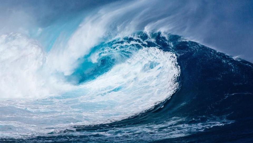 Die Welle des Aufschwungs rollt heran