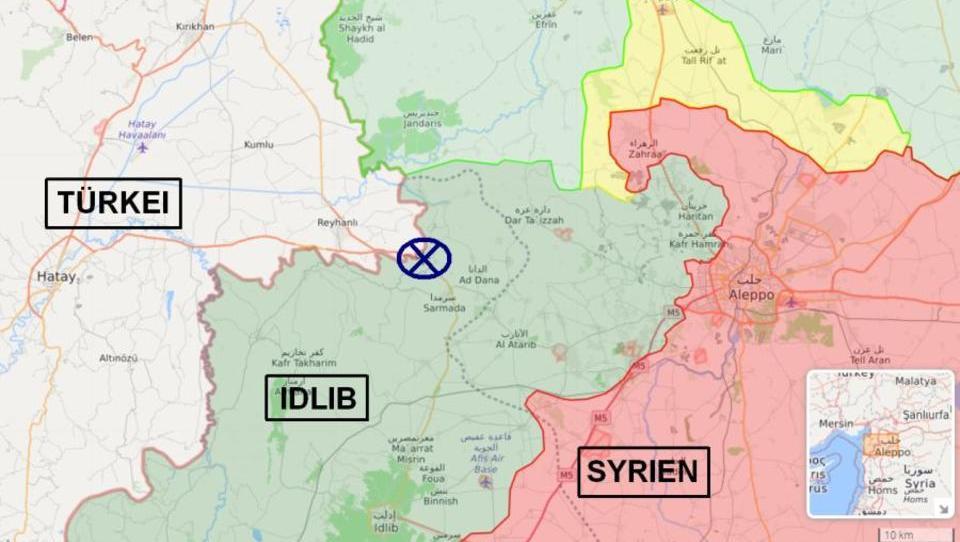Während Russland und die Türkei verhandeln, tötet Syrien fünf türkische Soldaten
