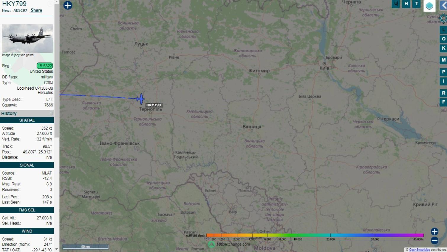 US-Militärflugzeug fliegt von Ramstein in die Ukraine, US-Spionage-Drohne in Nähe von Lugansk gesichtet